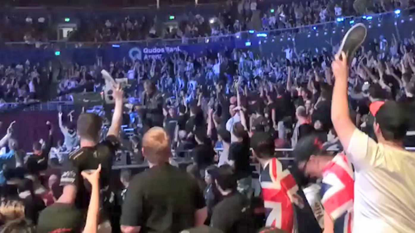 Esports fans at Intel Extreme Masters CS:GO event stage hilarious 'shoey protest'