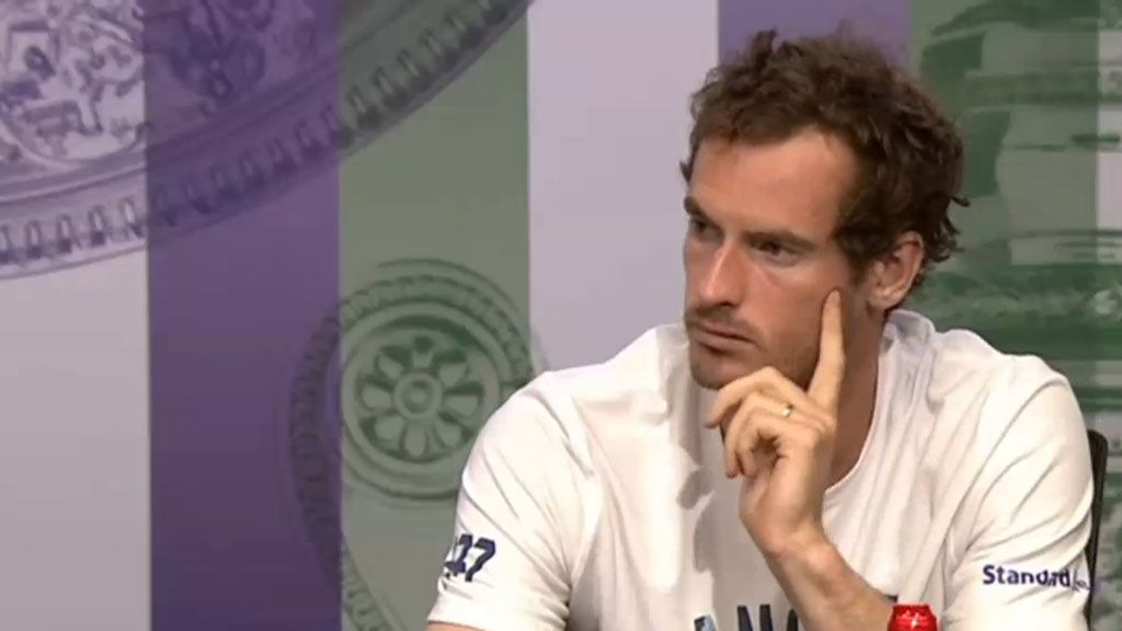 Andy Murray praised for correcting reporter's 'casually sexist' statement