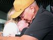 Grandfather meets grandson for the first time as Queensland border reopens