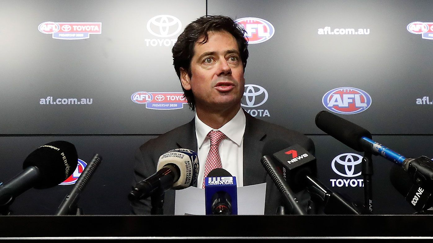 'We will do whatever we need': AFL boss Gillon McLachlan open to Christmas Grand Final