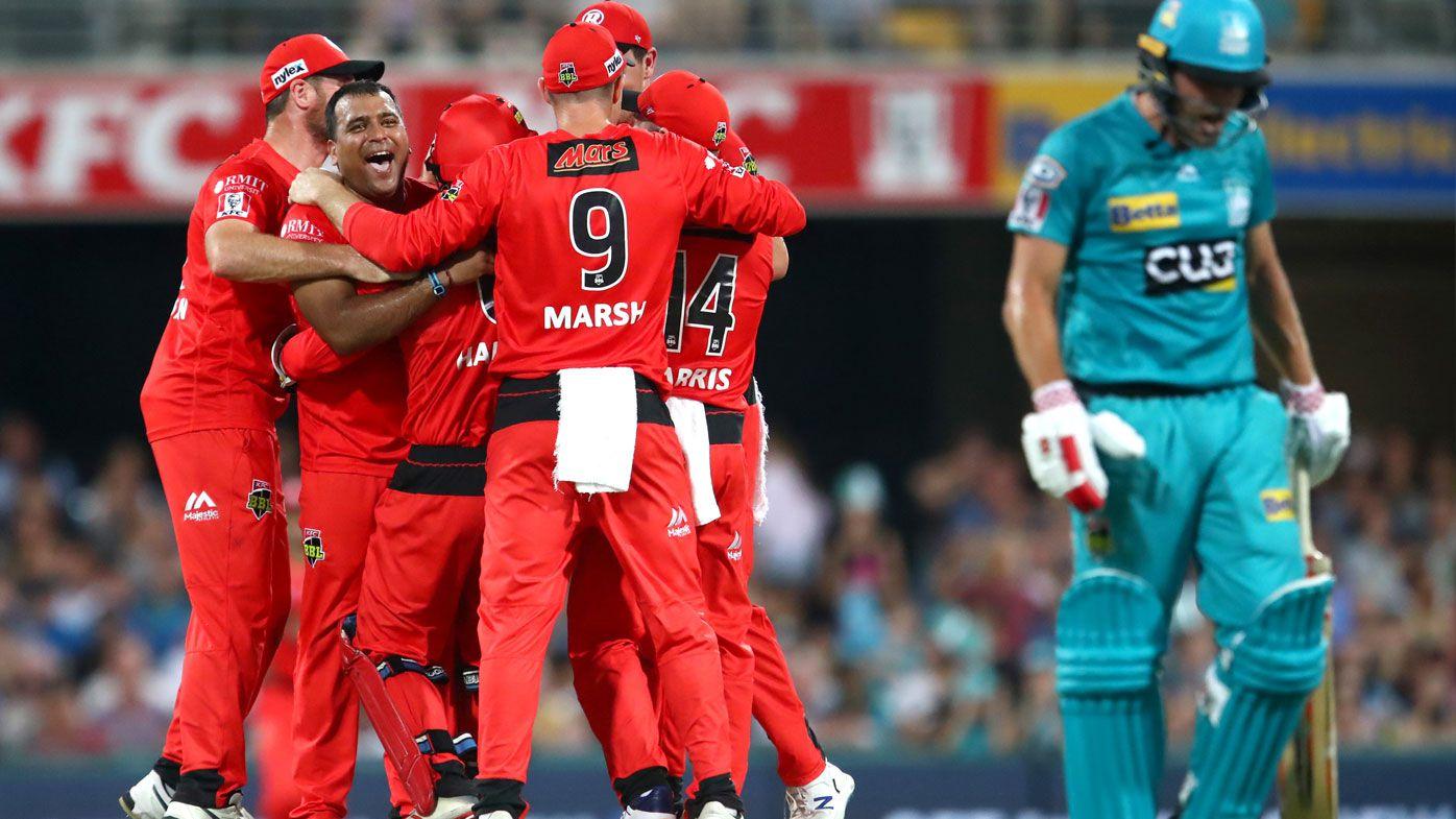 BBL: Brisbane Heat crumble against Melbourne Renegades