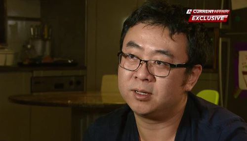 John Sun has told A Current Affair about his horror experience on the ship. Picture: A Current Affair