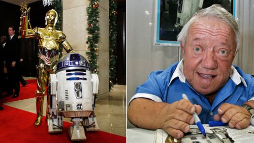 Star Wars R2-D2 actor Kenny Baker dies aged 81