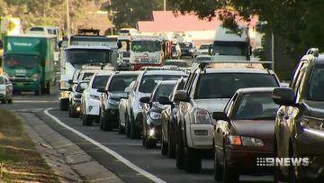 Traffic congestion in Sydney