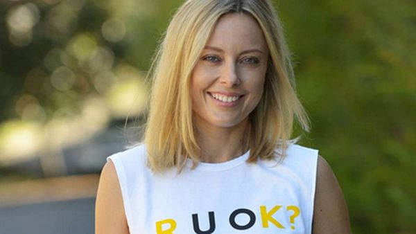 60 Minutes reporter and R U Ok? Day Ambassador Allison Langdon. Image: Supplied.