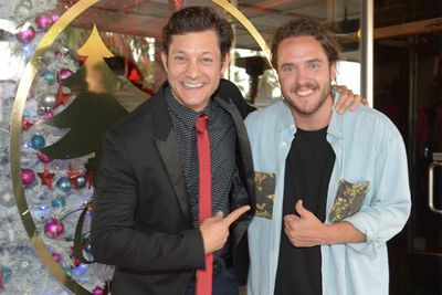 <i>Grease The Musical</i>'s Rob Mills and <i>The Voice</i> runner-up Jackson Thomas were also there. We'll soon see Rob hosting Vision Australia's Carols by Candlelight on Christmas Eve.