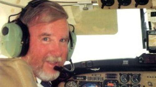 Pilot Max Quartermain. (Supplied)