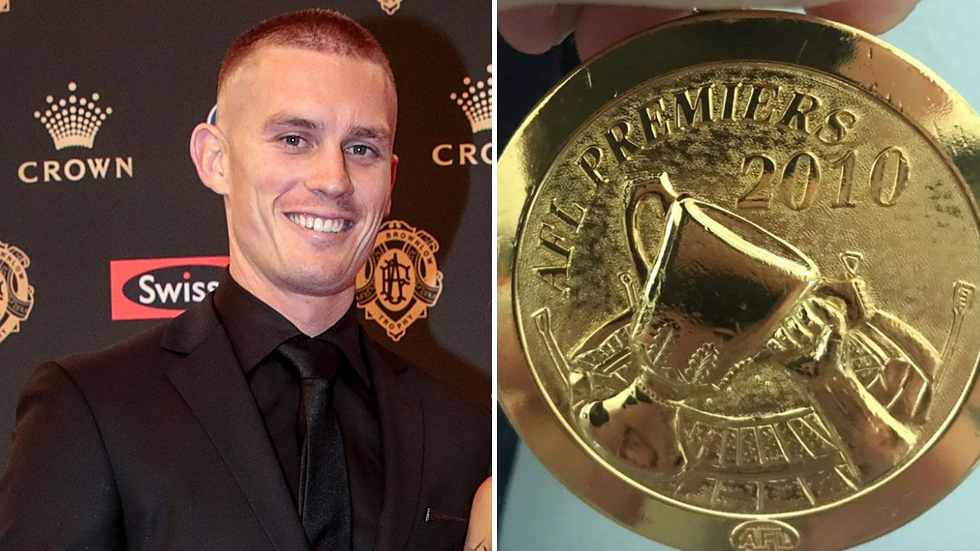 Dayne Beams auctions Grand Final medal for bushfire appeal