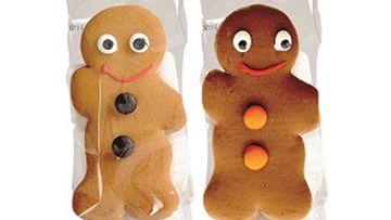 These gingerbread men have been recalled because they contain milk and it is not declared on the packaging.