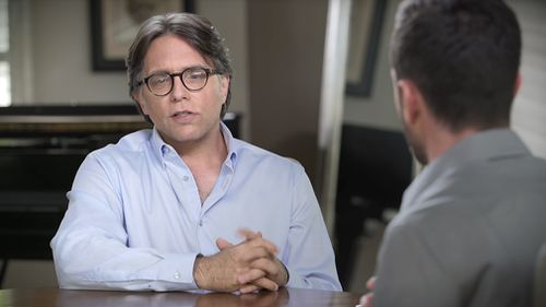 Alleged cult co-founder Keith Raniere. (Youtube/Keith Raniere Conversations)