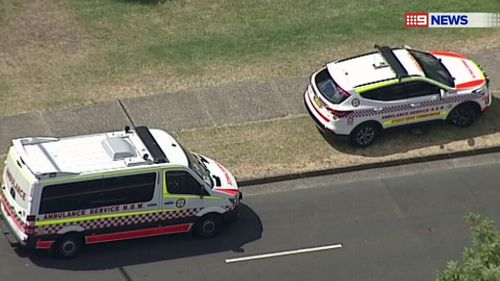 A baby girl has been taken to Westmead Children's Hospital for treatment. (9NEWS)