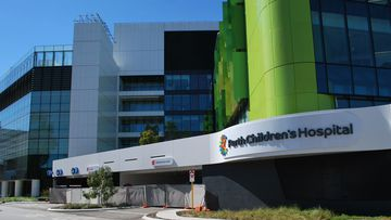 A toddler is in a critical condition at the Perth Children's Hospital after he was hit by a car.