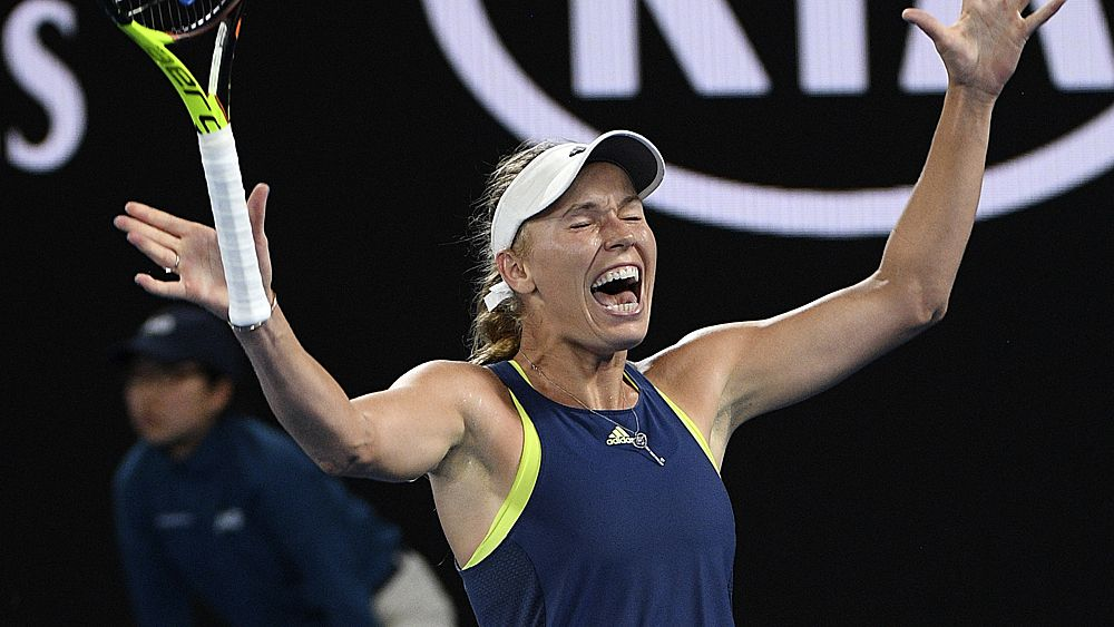 Australian Open 2018: Caroline Wozniacki defeats Simona Halep in women's final to win first grand slam crown