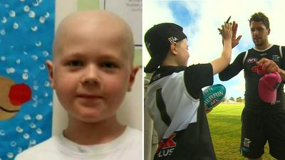 Eight-year-old Henry to captain Port Adelaide