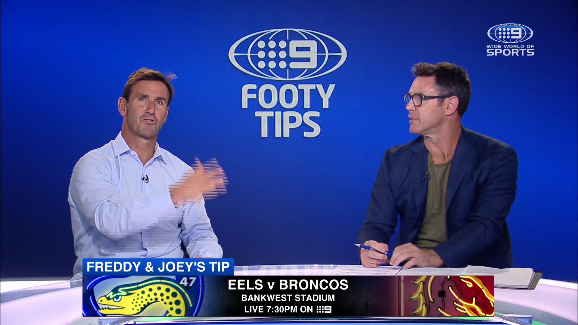 NRL footy tips Round 19: Freddy, Joey and Channel Nine's stars give their winners