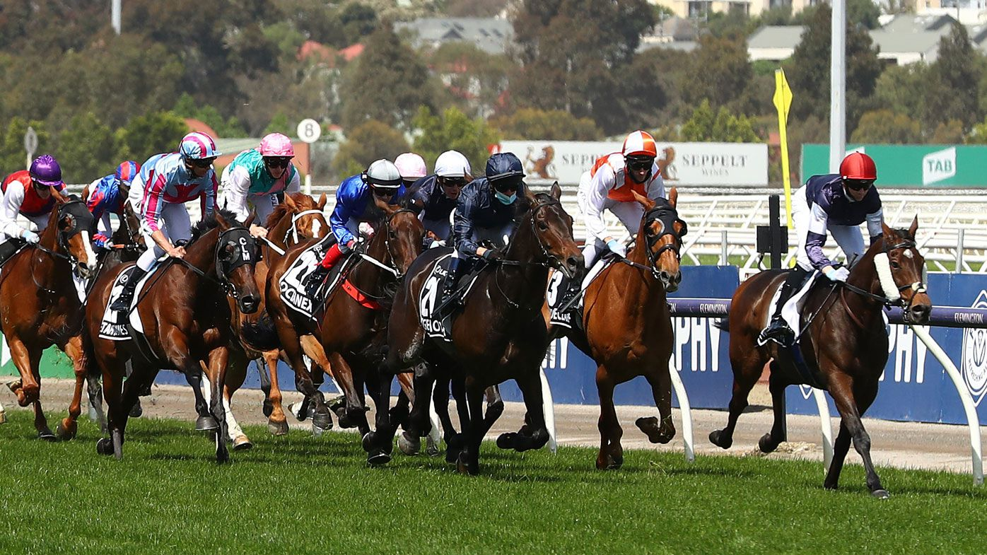 Twilight Payment claims the 2020 Melbourne Cup.