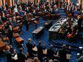 Chief justice, senators sworn in for Trump impeachment