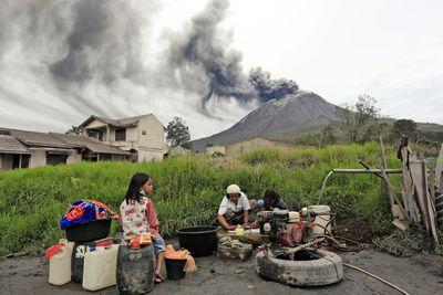 Mount Sinabung, Indonesia, 2020