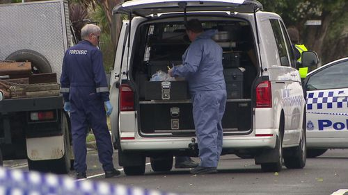 A man has died after an altercation with the resident of a home in Melbourne's east.