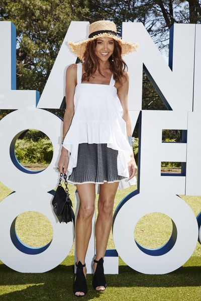 "<p>There was a sinking feeling at the Polo in the City in Sydney's Centennial Park on Saturday that had nothing to do with the <a href=""http://style.nine.com.au/2016/11/11/14/09/polo-jennifer-hawkins-city-fashion-tips-style"" target=""_blank"">hit and miss fashion</a>.</p> <p>The luxurious marquee for event sponsor Land Rover succumbed to soggy turf following an overnight downpour that threatened to send guests into the mud.&nbsp;</p> <p>With free flowing Pol Roger champagne guests such as WAG Kyly Clark, surf champion Sally Fitzgibbon and Amber Keating didn't seem to mind being banished to the lawn to watch the horses strut their stuff.</p> <p>Scorching weather conditions sent many guests into a spin with some opting for cool comfort while others arrived dressed for the after party. Heels were perhaps not the best option for dealing with the steaming divots during the break (you've seen <em>Pretty Woman,</em> right?).</p> <p>Fans of a chukka who attend the event in Brisbane this weekend can learn from these winning and losing looks.</p> <p><em>Kyly Clarke in By Johnny, Nerida WInter hat, Prada shoes, Mimco bag.</em></p>"