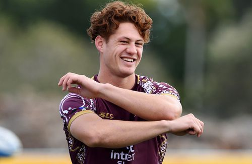 Ponga was chased by rugby, league and AFL teams as a junior. Picture: AAP
