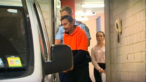 The 57-year-old man was arrested at Kogarah Police Station yesterday. (9NEWS)