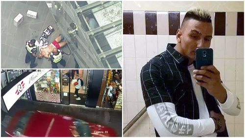 The accused Bourke Street Mall driver. (9NEWS)