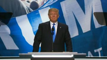 9RAW: Donald Trump makes dramatic entrance at Republic Convention