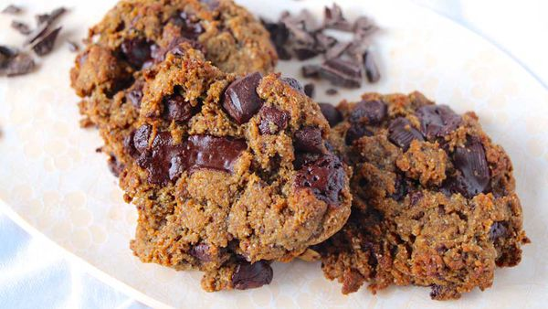 Gluten free choc chip cookies