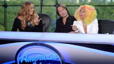 Mariah Carey and Nicki Minaj, American Idol