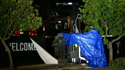One man is dead and another is in a critical incident after the accident in Brisbane.