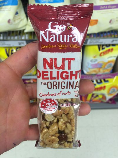 <strong>Go Natural Nut Delight Bar</strong>
