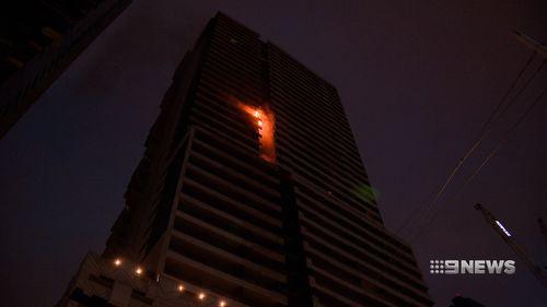 Spencer Street apartment fire