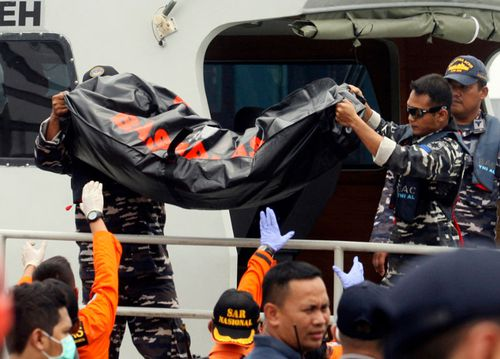 Bodies of some of the 189 people aboard have been recovered.