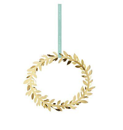"""<a href=""""http://shop.davidjones.com.au/djs/en/davidjones/cc-2016-magn--wall-wreath-go"""" target=""""_blank"""">Georg Jensen Wall Wreath, $85.</a>"""