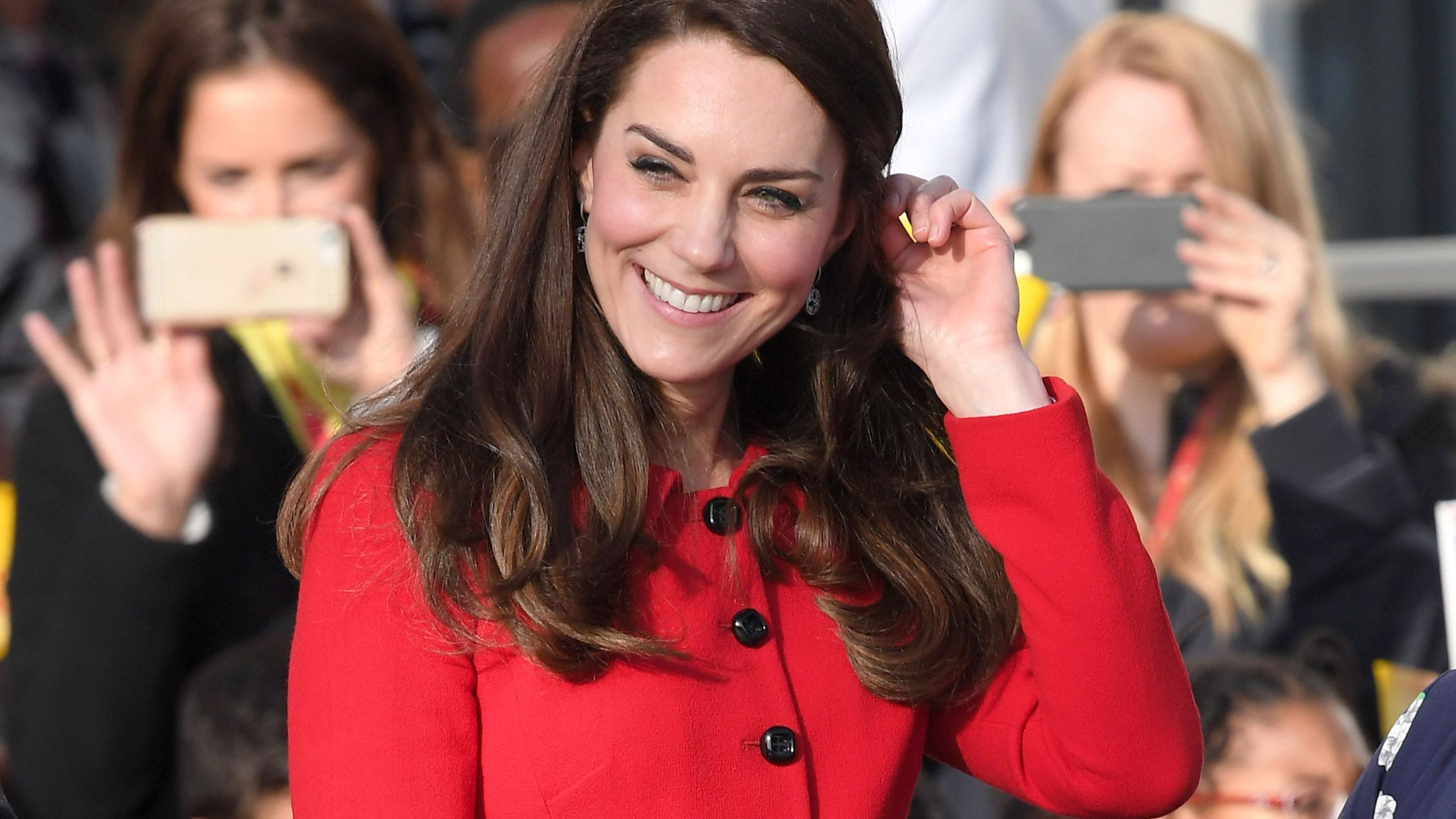 The Duchess of Cambridge's favourite red dress