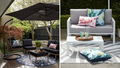 Kmart is dropping a new exclusive range of outdoor furniture