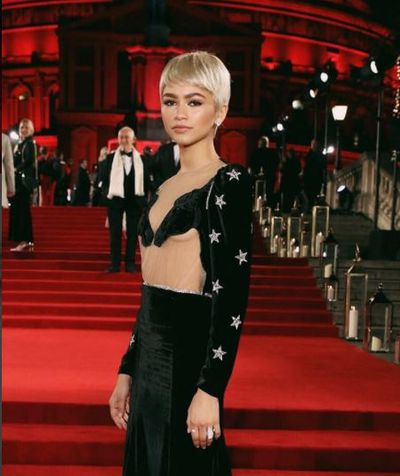 Zendaya's platinum pixie at the 2017 British Fashion Awards may have been a wig but it proved that this Twiggy-inspired 'do is a timeless look