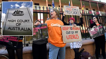 News Australia High Court ruling abortion clinic safe access zones women Victoria Tasmania