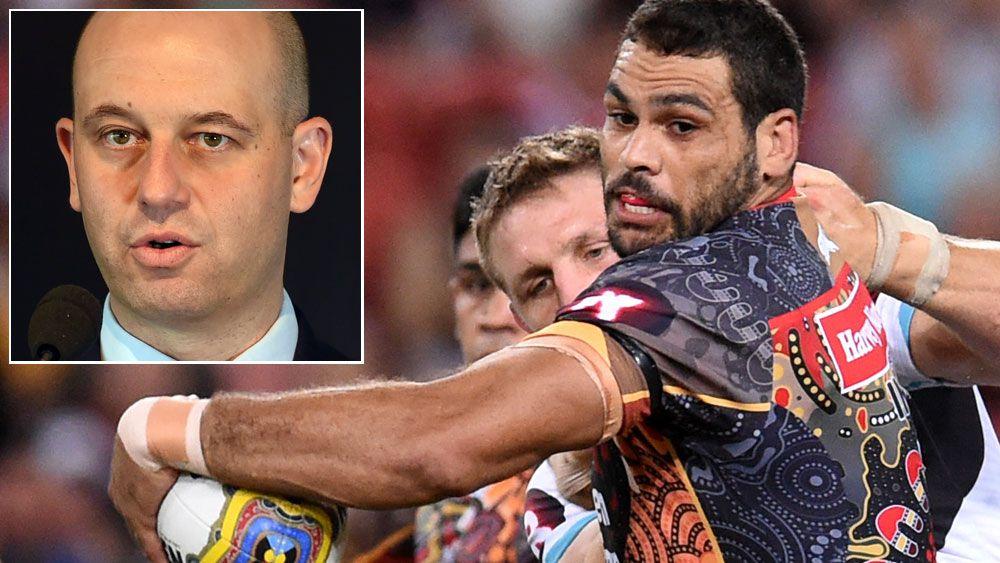 Inglis takes swipe at NRL boss
