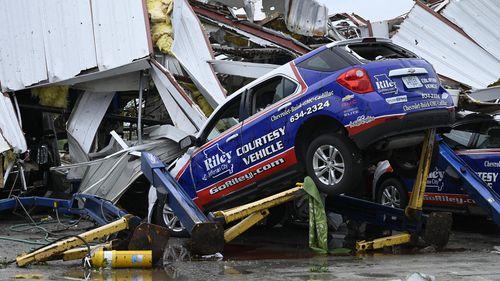 """When it hit ... it felt like an earthquake,"" resident Cindy Sandoval-Jakobsen said."