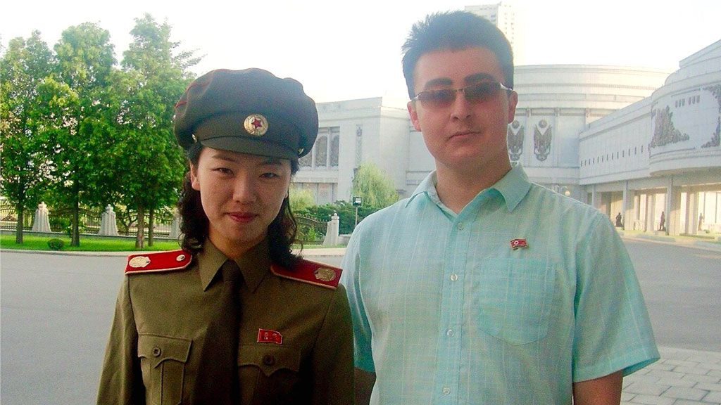 Australian student in North Korea