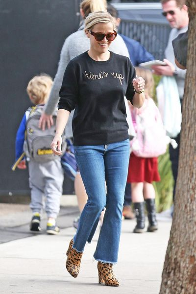 Actress Reese Witherspoon in Los Angeles, January, 2017