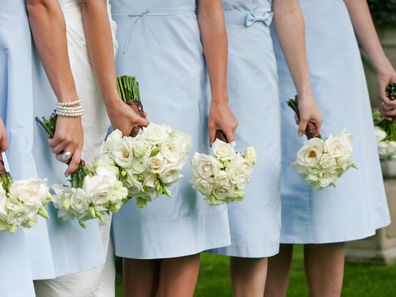 Bride's fallout with heavily pregnant bridesmaid.