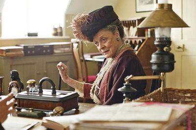 Sure it's an ensemble cast, but let's face it, Maggie owns <i>Downton Abbey</i>.