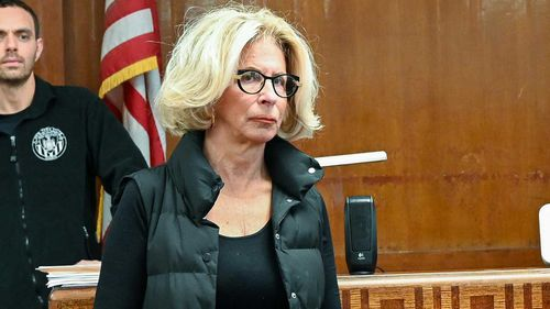 New York Chief Judge Janet M. DiFiore's photo was found in the car of an anti-feminist lawyer suspected of killing another female judge's son.