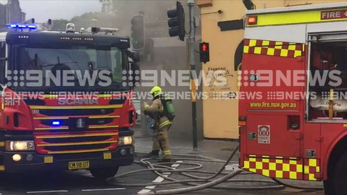 Surry Hills restaurant fire 190407 Sydney man suspected stabbing crime news NSW Australia