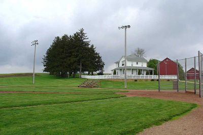 <strong>Field of Dreams' Baseball Field in Dubuque County, Iowa</strong>