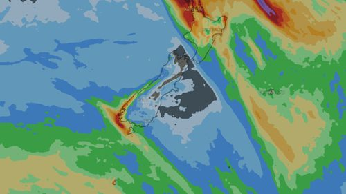 Calm before the storm: Severe wind and rain is expected to hit Auckland and New Zealand's  north coast from tomorrow. (Weatherzone)