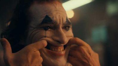 Joaquin Phoenix is unrecognisable as 'The Joker.'